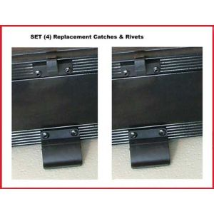Octbox Drawer Module Catches (Plastic set of Two)