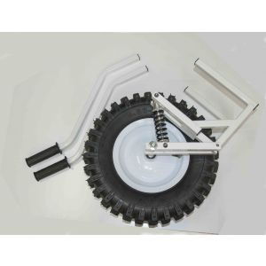 Single Pneumatic Wheel Kit with  with Adjustable Shock absorbers